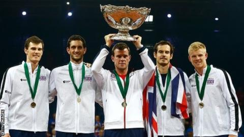Davis Cup: Great Britain without Andy Murray & Kyle Edmund for Uzbekistan tie