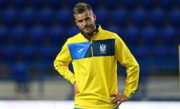 Football: Ukraine hopes to qualify for Euro 2020 finals, - Yarmolenko