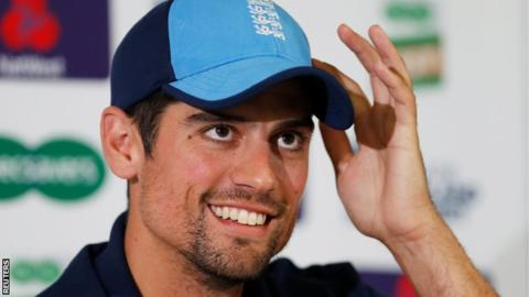 Alastair Cook: England opener 'cried' as he told team-mates of retirement