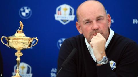 Ryder Cup 2018: Thomas Bjorn says he felt sick telling players they had missed out