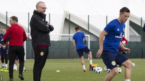 Scotland's Alex McLeish looks to Russia for inspiration ahead of Nations League