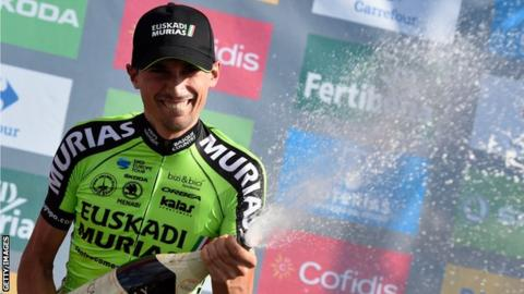 Vuelta a Espana: Rodriguez wins stage 13 as Simon Yates cuts Herrada's lead