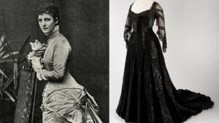 Missing dress owned by Queen Alexandra found in attic