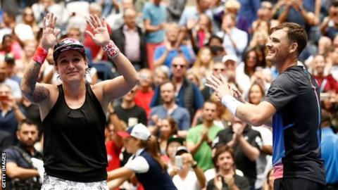 US Open 2018: Jamie Murray and Bethanie Mattek-Sands win mixed doubles title