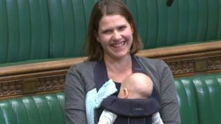 MP brings baby to Commons debate