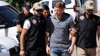 Joe Robinson: Turkish court convicts former UK soldier