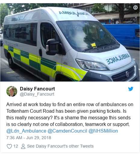 Reality Check: Can ambulances park on yellow lines?