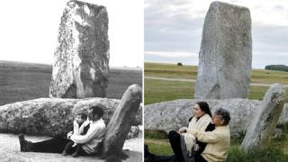 Stonehenge photos recreated for centenary project