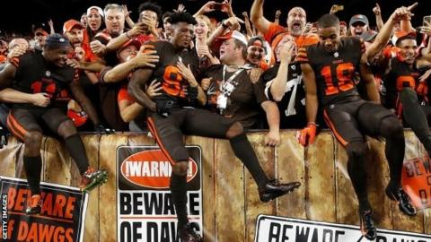 Cleveland Browns finally end 635-day winless run with victory over New York Jets