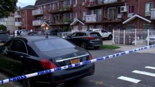 Three infants among five people stabbed at New York nursery