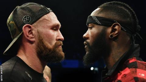 Deontay Wilder v Tyson Fury: Fight confirmed for 1 December
