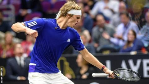 Laver Cup: Roger Federer and Alexander Zverev win as Team Europe retain title