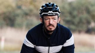 Mike Hall: UK cyclist died instantly in race collision, inquest told