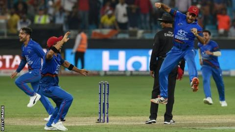 Afghanistan v India: Asia Cup match ends in tie