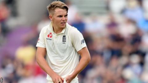 Sam Curran: England all-rounder rewarded with central contract