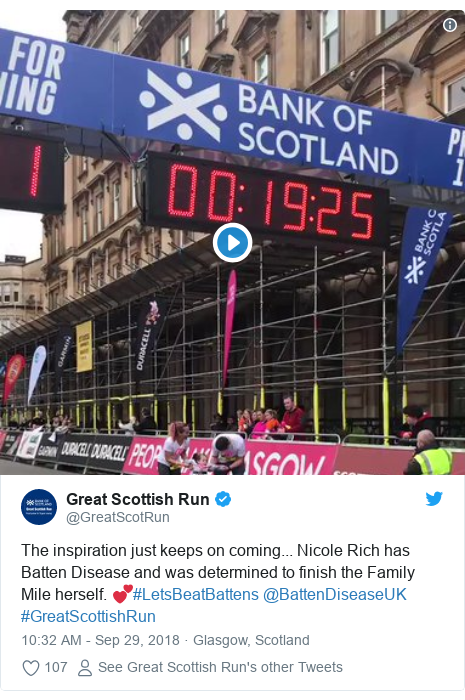 Thousands take part for Great Scottish Run in Glasgow