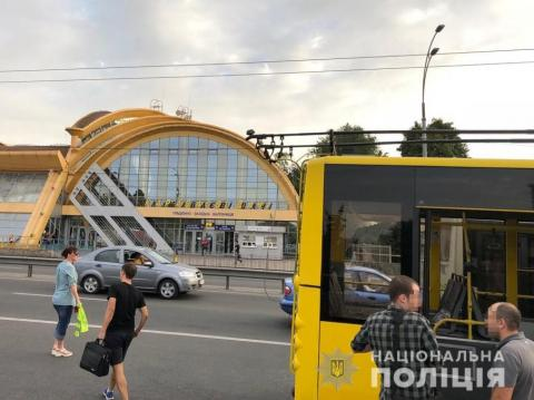 Shooting in Kyiv: Man opens fire in trolleybus