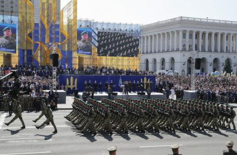 Verkhovna Rada approves military salute 'Glory to Ukraine!'
