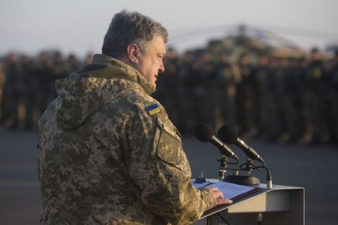 18 Ukrainian military servicemen deceased in Donbas in August, - Poroshenko