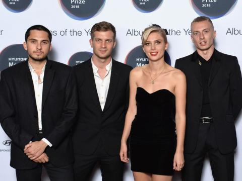 Rock band Wolf Alice scoops Mercury Prize