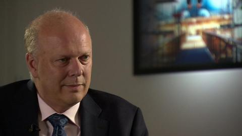 Brexit: 'No deal' without EU compromise, says Grayling