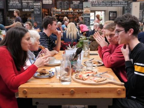 How foodie culture could save the high street