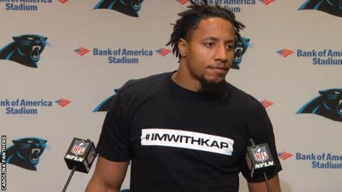 Eric Reid to continue to speak out after joining Carolina Panthers