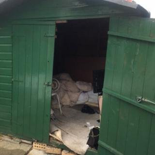 Cumbria slavery probe: Man 'lived in shed for 40 years'