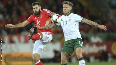 Injured Joe Ledley and Tom Lockyer out of Wales squad against Spain and Republic