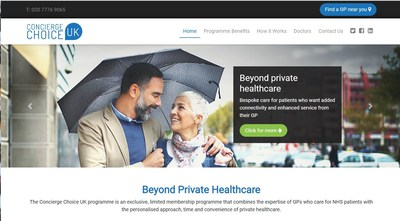 Concierge Choice Physicians Launches First-of-its-Kind Concierge Medicine Program in the UK