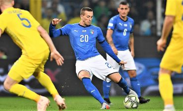 Ukrainian football team plays friendly draw with Italy in Genoa