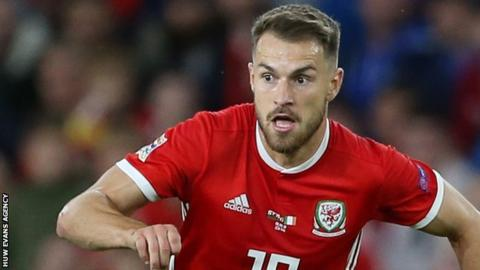 Aaron Ramsey out for Wales against Republic of Ireland due to