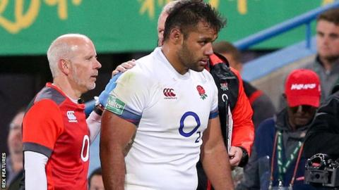 Billy Vunipola: Saracens forward out of England