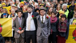 Three jailed fracking protesters freed on appeal