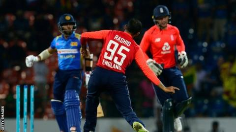 Sri Lanka v England: Eoin Morgan leads tourists to comfortable win