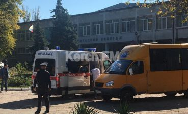 Blast of explosive device caused Crimean college fatalities