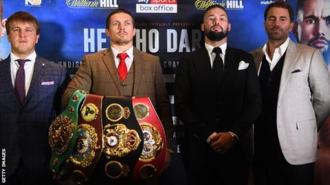 Bellew v Usyk: Briton says frequency of doping tests proving an issue