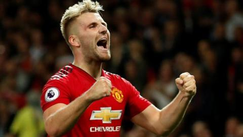 Luke Shaw: Man Utd defender agrees new five-year deal at Old Trafford