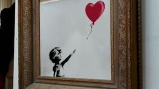 Banksy reveals he meant to shred entire €1m painting