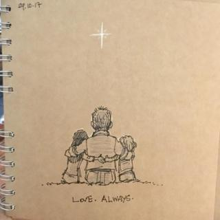 How a doodle a day helped me survive first year without my wife