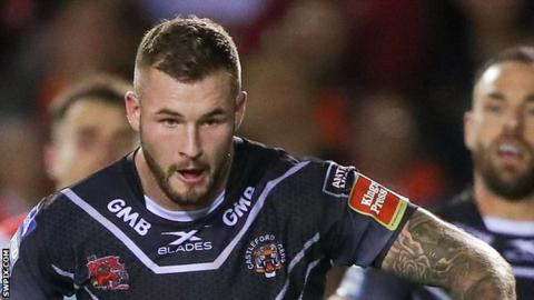Zak Hardaker: Wigan Warriors full-back to begin rehabilitation after driving ban