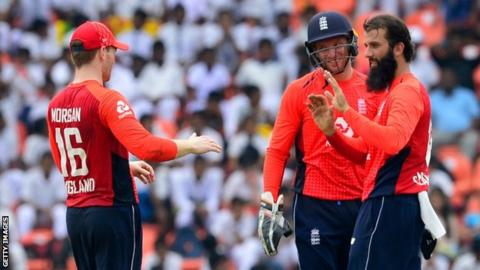 Sri Lanka v England: Tourists seal series with win in rain-hit fourth ODI