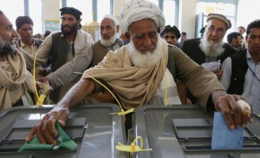 Parliamentary elections take place in Afghanistan