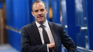 Brexit: Extend transition only to scrap backstop, says Dominic Raab