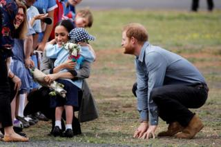 Royal tour: Harry and Meghan