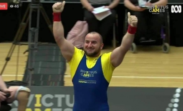 Ukraine gains another gold medal at Invictus Games