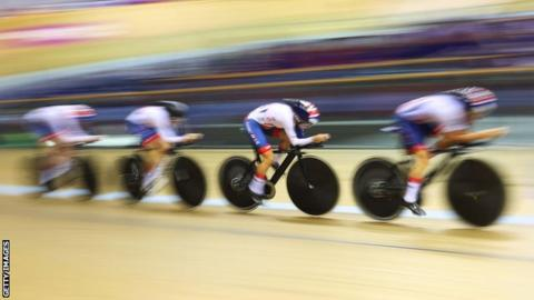Track Cycling World Cup: Britain's women win gold in Canada team pursuit