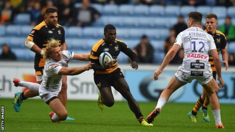 Christian Wade: Ex-Wasps winger says England's size obsession limited him to one cap