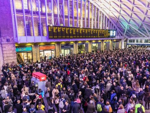 These are the train stations with the worst delays