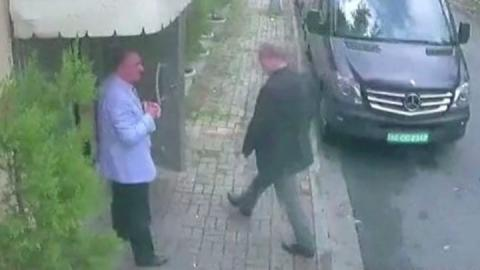 Jamal Khashoggi: Pompeo meets Erdogan over missing writer